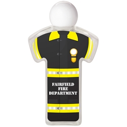 Firefighter 2.19 oz Sanitizer Bottle PL-1808,PL1808,Uniform,Hand,Sanitizer