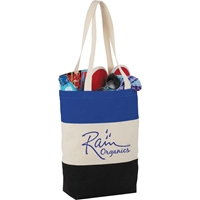 Auburndale 2000 Cotton Tote SM-7228,SM7228,8oz,Cotton,Color,Block,Tote