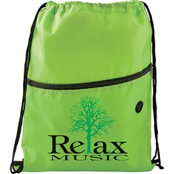 Tahoe Deluxe Nylon Insulated Drawstring Backpack SM-7054,SM7054,Insulated,Zippered,Drawstring,Sportspack