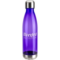 Cheyenne 6000 Tritan Bottle 25 oz DBT-BA16,DBTBA16,Bayside,25oz,Tritan,Bottle,with,Stainless,Base,and,Cap,