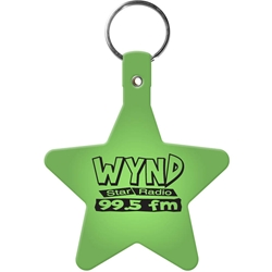 Flexible Key Tag - Star 565,565,Star,Flexible,Key-Tag,