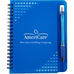 "Allegro Junior Notebook with Pen 1422,1422,5"",x,7"",Havana,Notebook,w/Pen,"