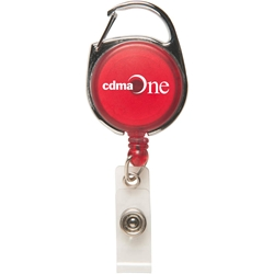Carabiner Retractable Badge Holder 2056,2056,Carabiner,Secure-A-Badge,