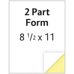 "Carbonless Form - 8.5"" x 11"" - 2 Part - 250/pack NONE,NONE,Carbonless,Form,-,8.5"",x,11"",-,2,Part,"