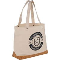 Trinidad Cork and Cotton Shopping Tote 2160-61,216061,Napa,Cotton,and,Cork,Shopper,Tote,