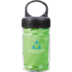 Mermaid 3000 Cooling Towel in Bottle 41087,41087,Carabiner,Bottle,with,Cooling,Towel,