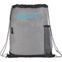 Palmyra Drawstring Backpack SM-5833,SM5833,Heather,Melange,Drawstring,Bag,
