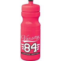 Rapids Sports Bottle 24 oz - Tropical Collection SM-6533,SM6533,Easy,Squeezy,Ultra,24oz,Sports,Bottle,