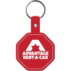 Flexible Key Tag - Octagon 502,502,Stop,Sign,Flexible,Key-Tag,stop,sign