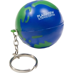 Earthball Stress Reliever Key Chain LKC-EB01,LKCEB01,Earthball,Stress,Reliever,Key,Chain,