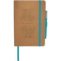 Blakely Recycled Junior Journal with Pen 7200-40,720040,Eco,Color,Bound,JournalBook,Bundle,Set,