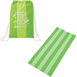 Microfiber Beach Blanket with Drawstring Pouch 1080-27,108027,Microfiber,Beach,Blanket,with,Drawstring,Pouch,