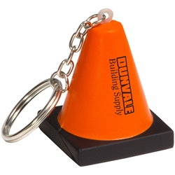 Construction Cone Stress Reliever Key Chain LKC-CC15,LKCCC15,Construction,Cone,Stress,Reliever,Key,Chain,