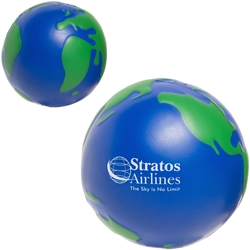 Earth 6000 Stress Reliever LEB-EB01,LEBEB01,Earthball,Stress,Reliever,world,globe