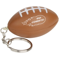 Football Stress Reliever Key Chain LKC-FB03,LKCFB03,Football,Stress,Reliever,Key,Chain,