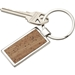 Metal and Cork Key Tag - 23866