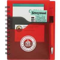 "Manalapan Junior Notebook with Pen SM-3557,SM3557,5"",x,7"",,Valley,Spiral,Notebook,With,Pen,"