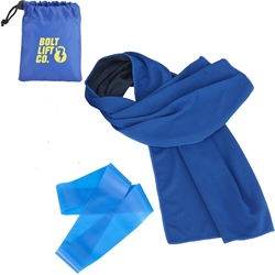 Cooling Towel and Resistance Loop in Pouch SM-7649,SM7649,Cooling,Towel,and,Resistance,Loop,in,Pou,
